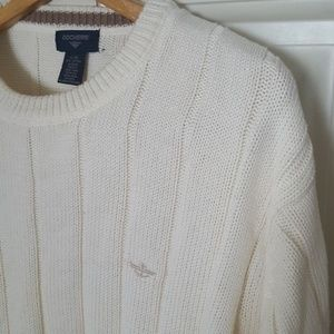 Dockers Classic Crewneck Pullover Ribbed Sweater